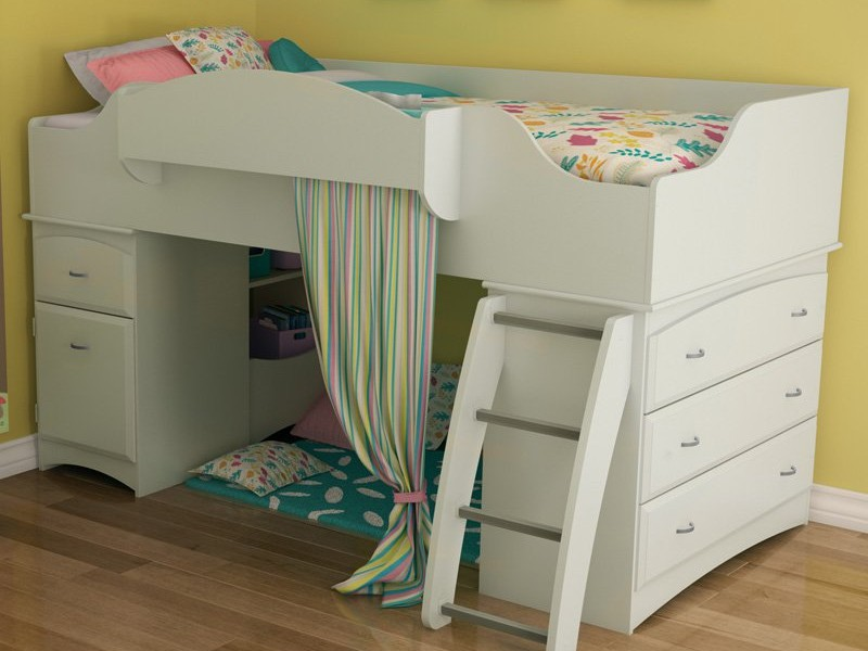 Junior Loft Bed With Stairs