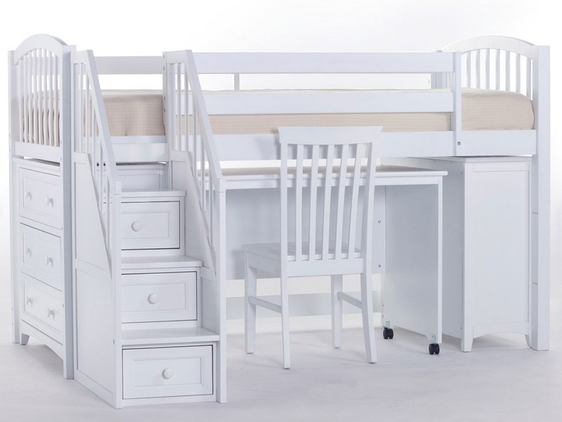 Junior Loft Bed With Steps