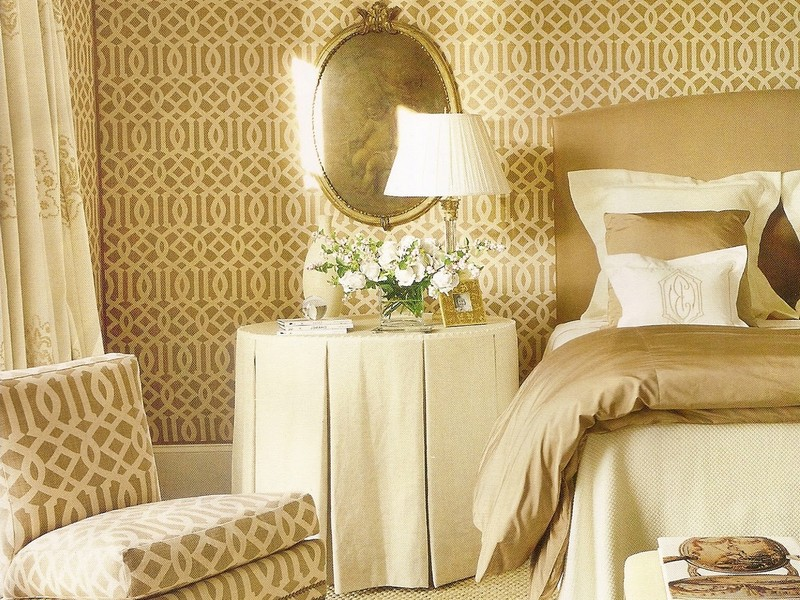 Kelly Wearstler Imperial Trellis Wallpaper