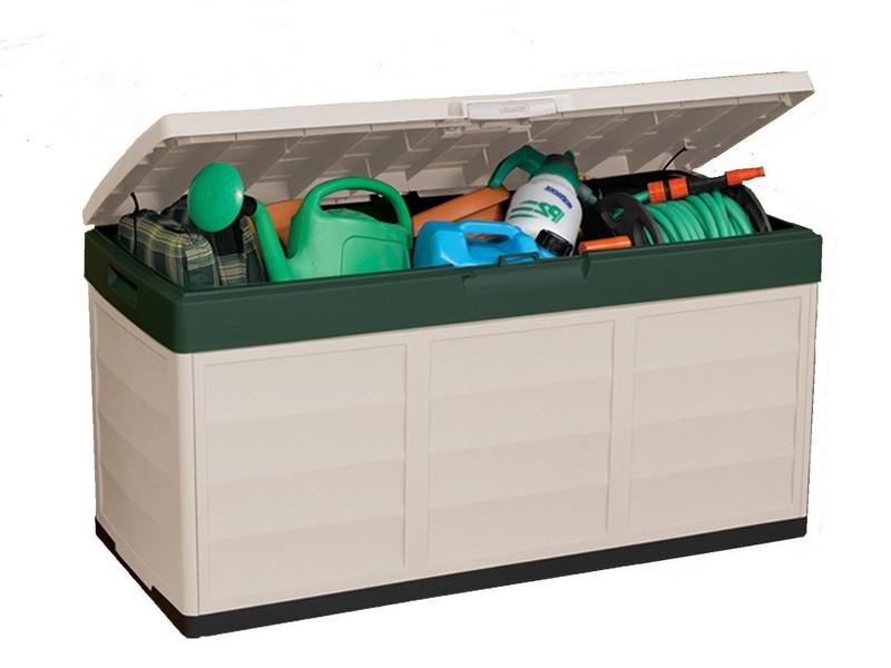 Keter Eden Garden Bench Box 265 Litre Capacity