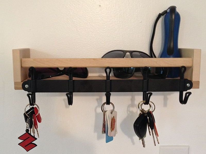 Key Hook Shelf