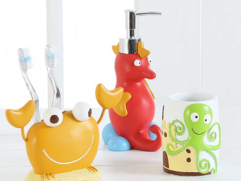 Kid Bathroom Accessories Sets