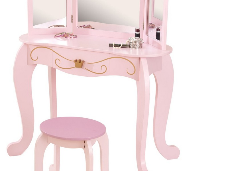 Kid Vanity Table And Chair
