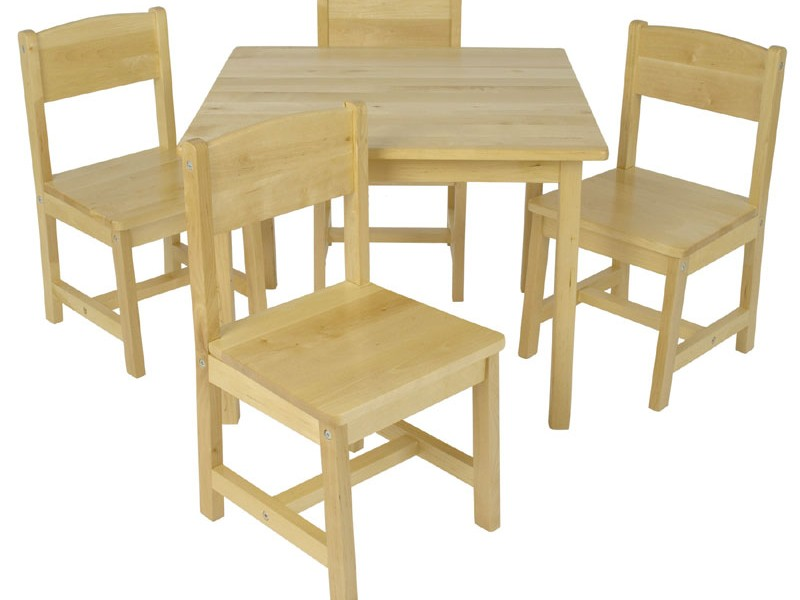 Kidkraft Farmhouse Table 4 Chairs 21421