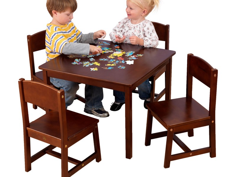 Kidkraft Farmhouse Table Espresso