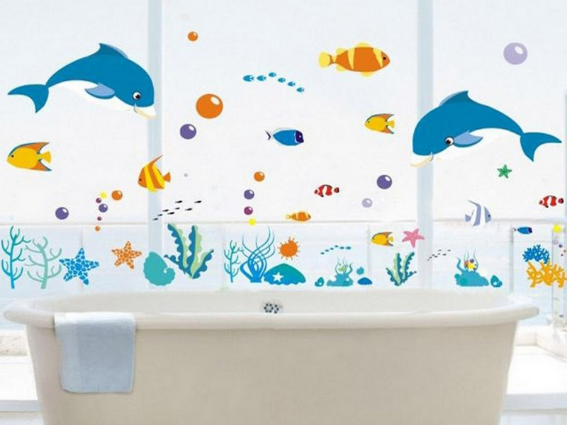 Kids Bathroom Decals