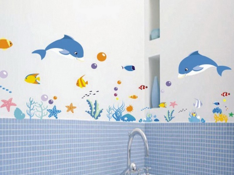 Kids Bathroom Wall Decals