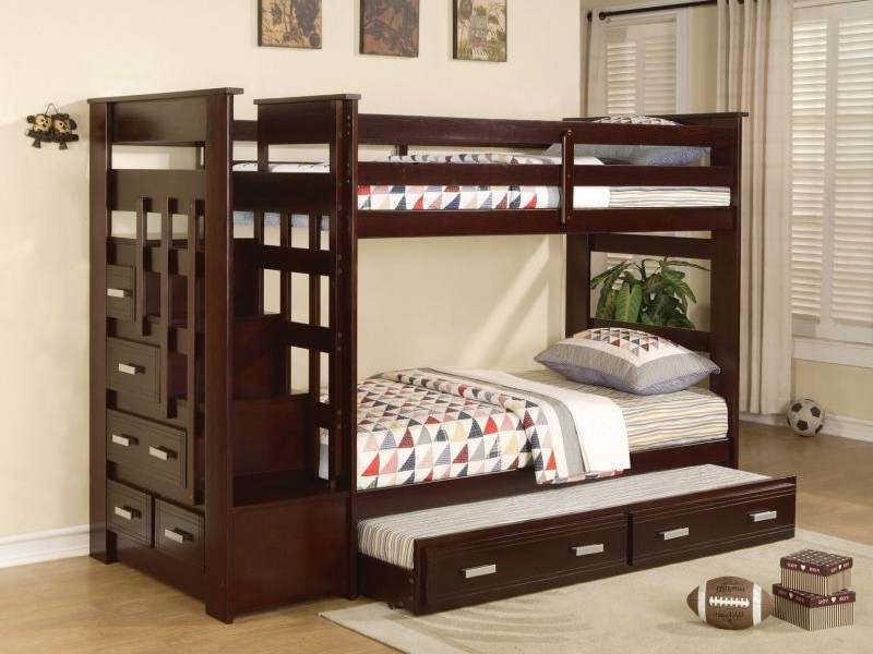 Kids Bed With Trundle And Storage