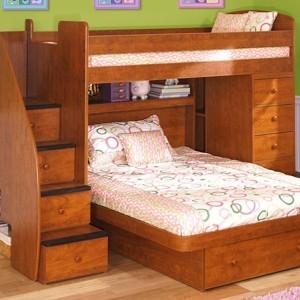 Kids Trundle Bed Set