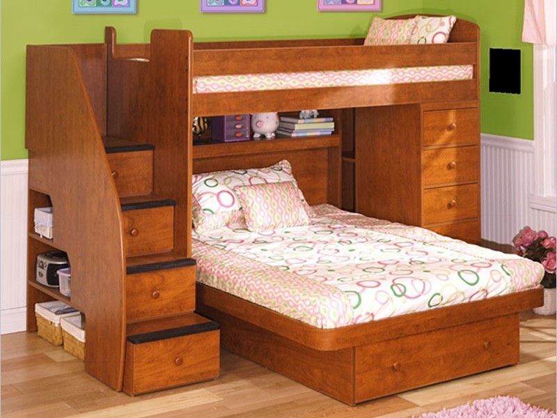 Kids Trundle Bed Set