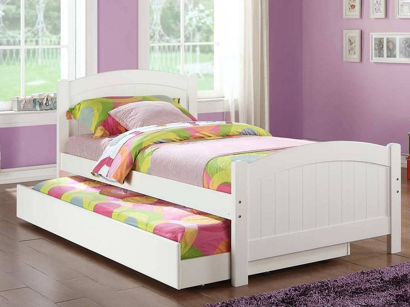Kids Trundle Beds White