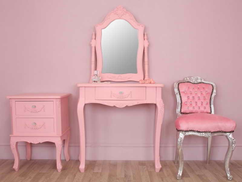 Kids Vanity Table And Chair