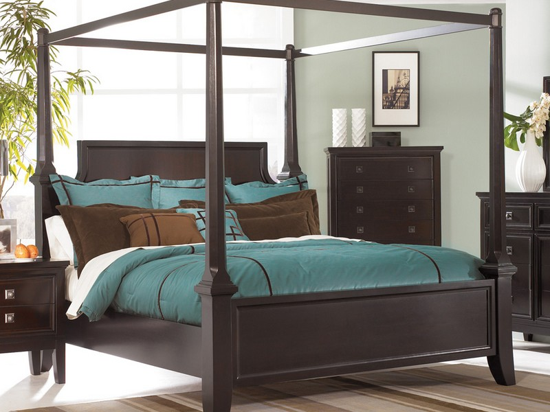 King Size Canopy Bedroom Set