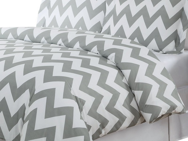 King Size Chevron Bedding