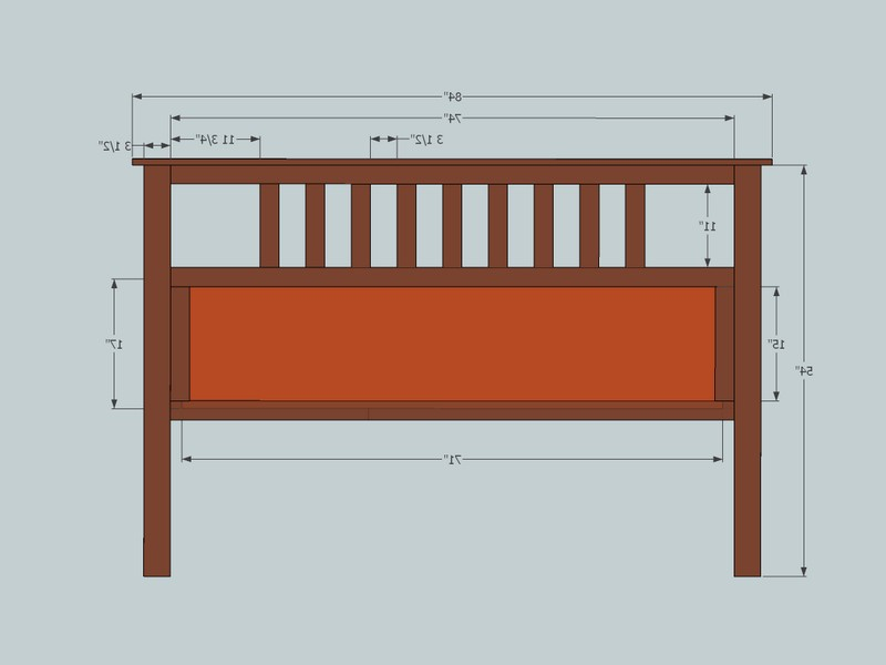 King Size Headboard Plans