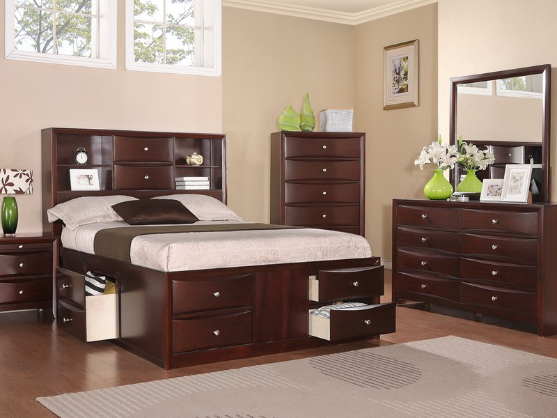 King Size Leather Headboard And Footboard