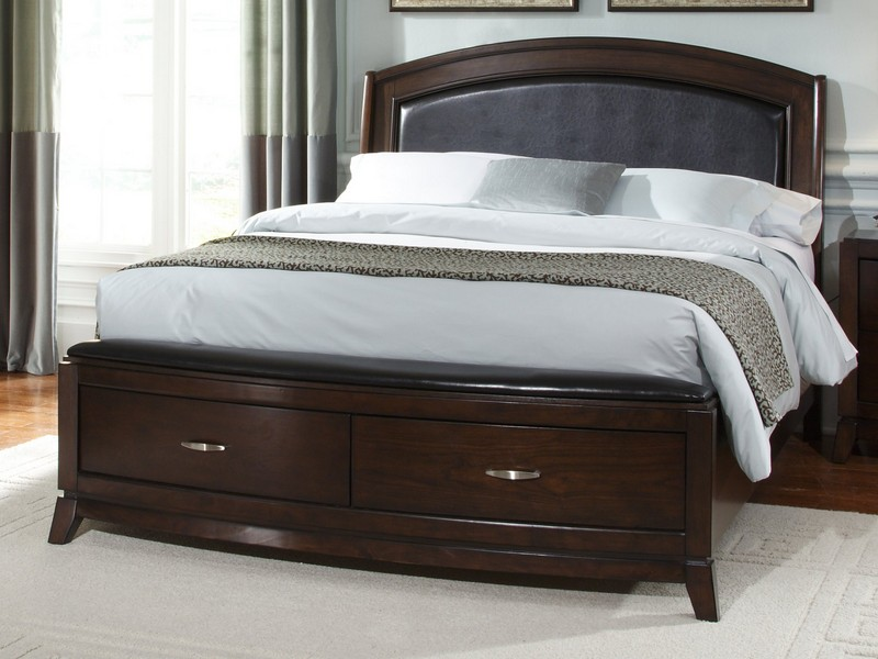 King Size Platform Bed With Storage And Headboard Copy