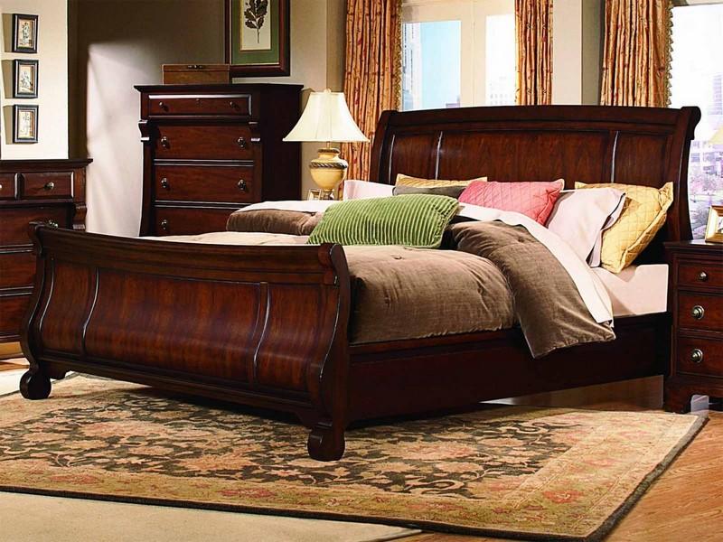King Sleigh Bedroom Furniture Sets