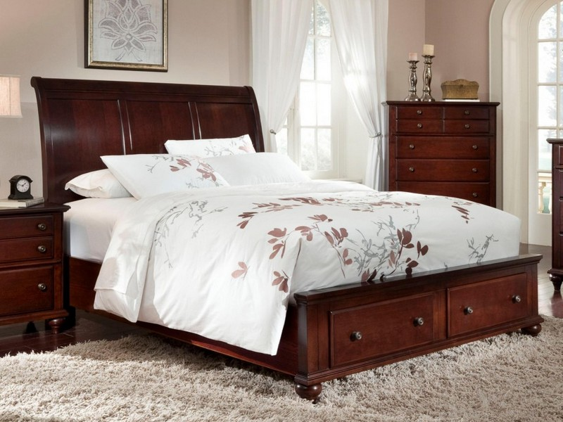 King Storage Headboard