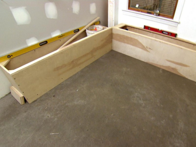 Kitchen Corner Bench Seating Plans