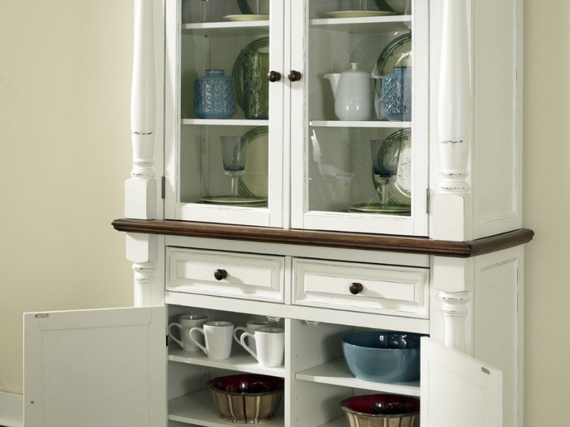 Kitchen Corner Hutch Cabinets