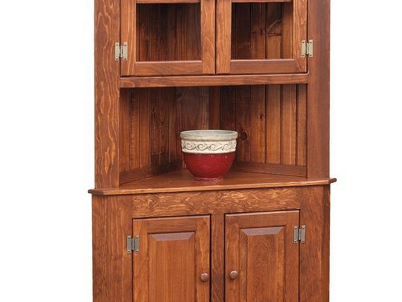 Kitchen Corner Hutch