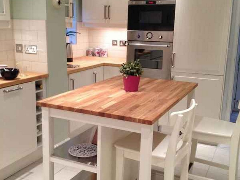 Kitchen Islands With Butcher Block Tops