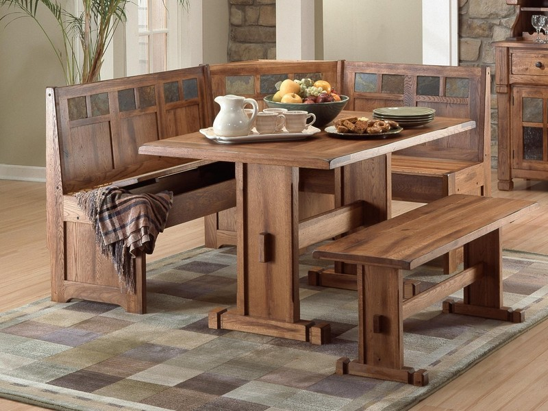 Kitchen Table With Bench Seating Plans