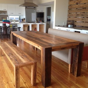 Kitchen Tables Made From Barn Wood