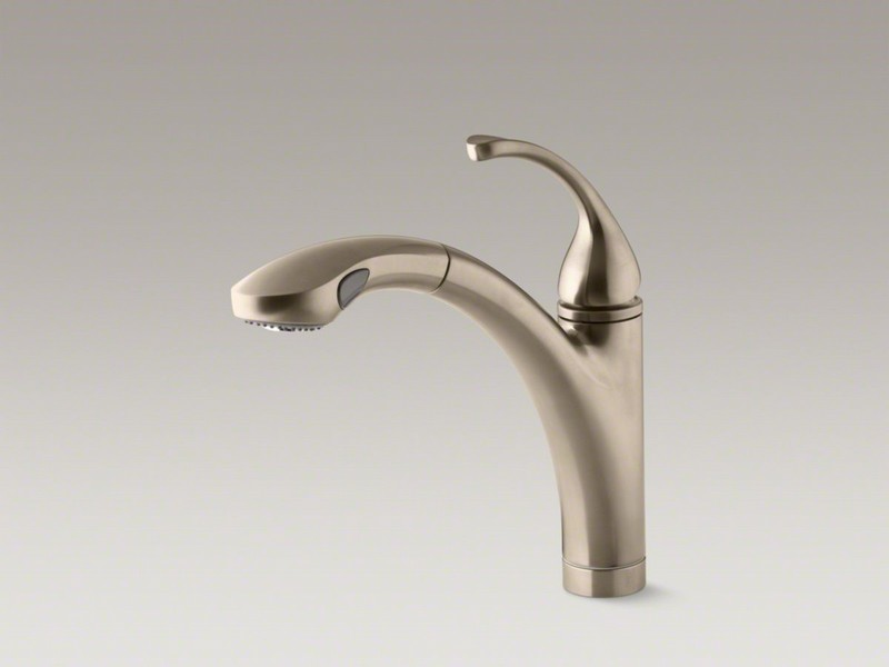 Kohler Forte Bathroom Faucet Brushed Nickel