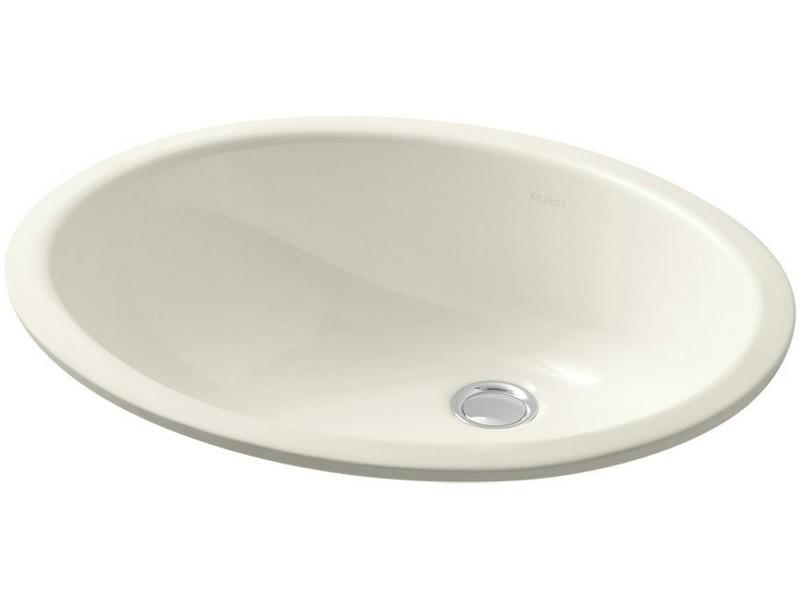 Kohler Undermount Bathroom Sink Biscuit