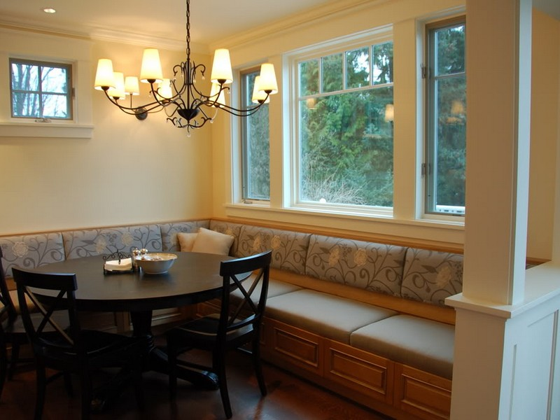 L Shaped Banquette Plans