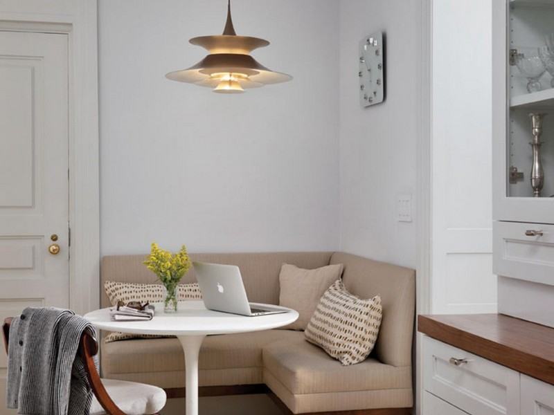 L Shaped Banquette Seating