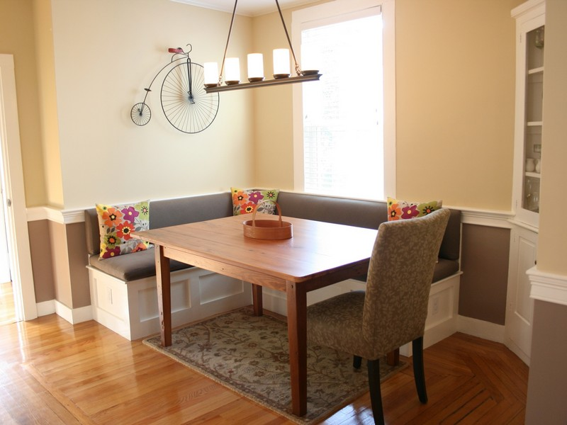 L Shaped Banquette