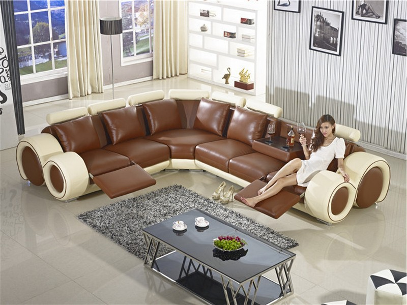 L Shaped Couch With Recliner