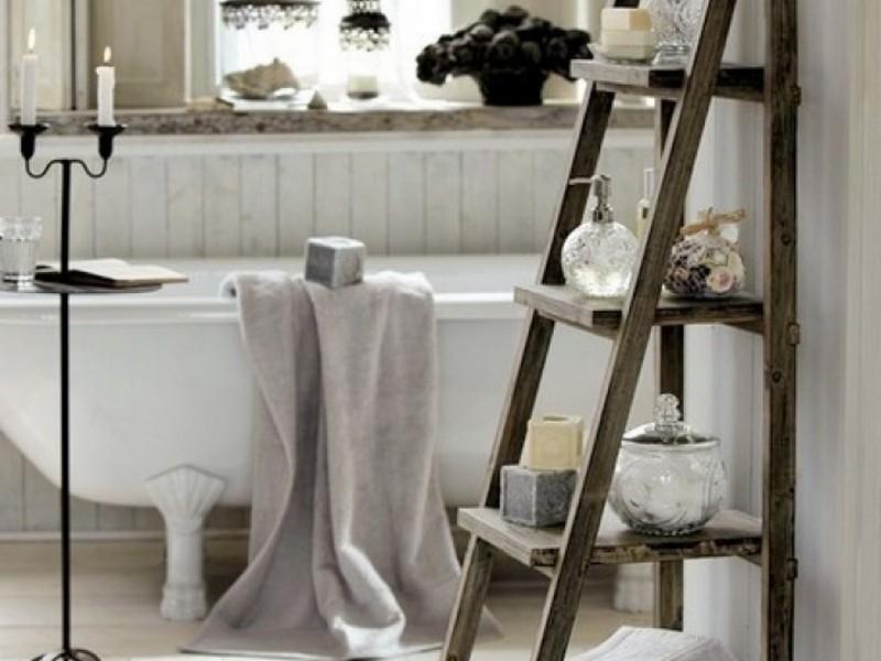Ladder Towel Rack Bathroom