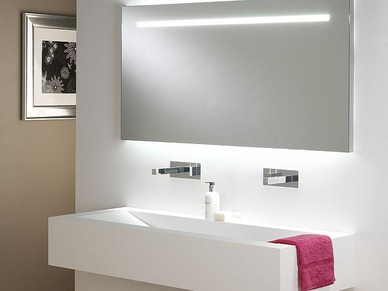 Large Backlit Bathroom Mirrors