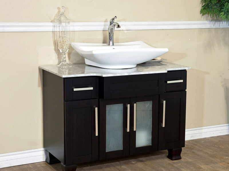 Large Bathroom Vanities With One Sink