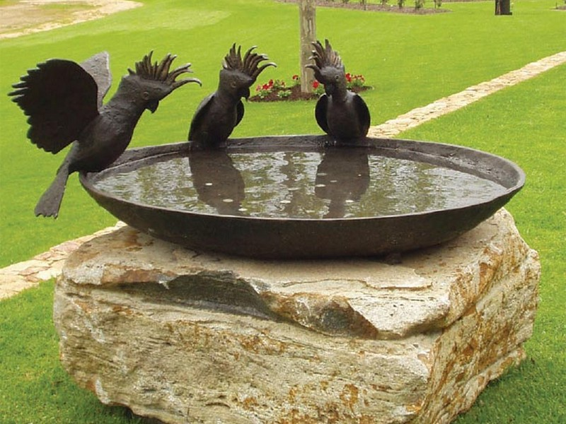 Large Bird Bath Bowl