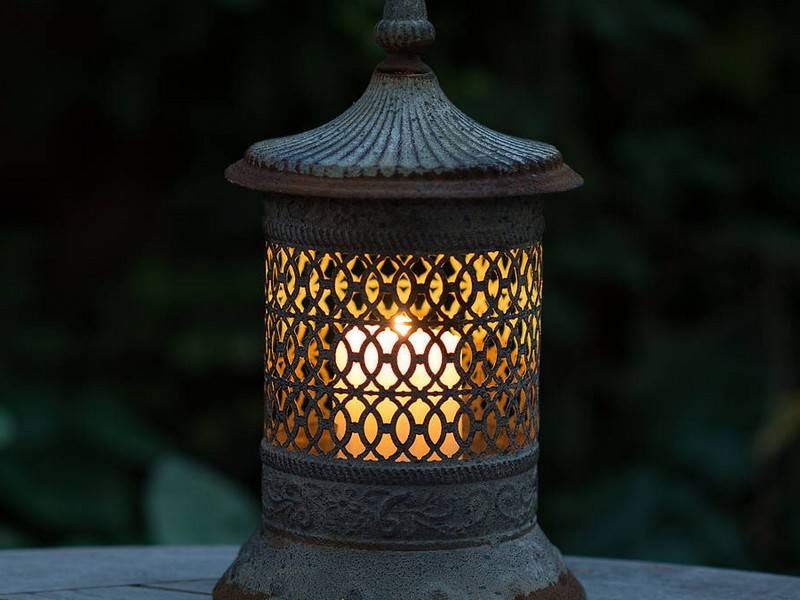Large Candle Lanterns