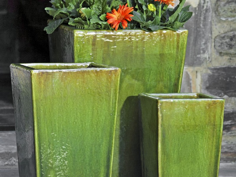 Large Ceramic Flower Pots