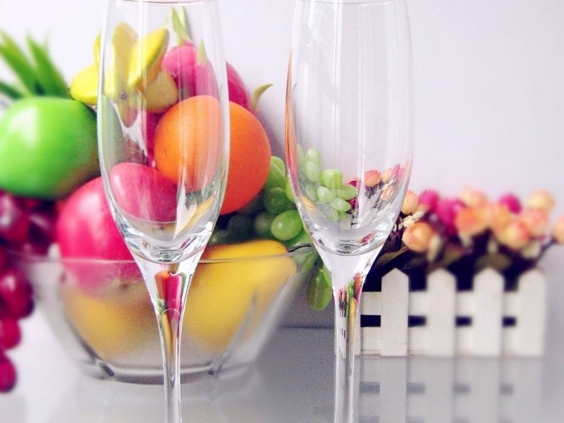 Large Champagne Glasses For Decoration