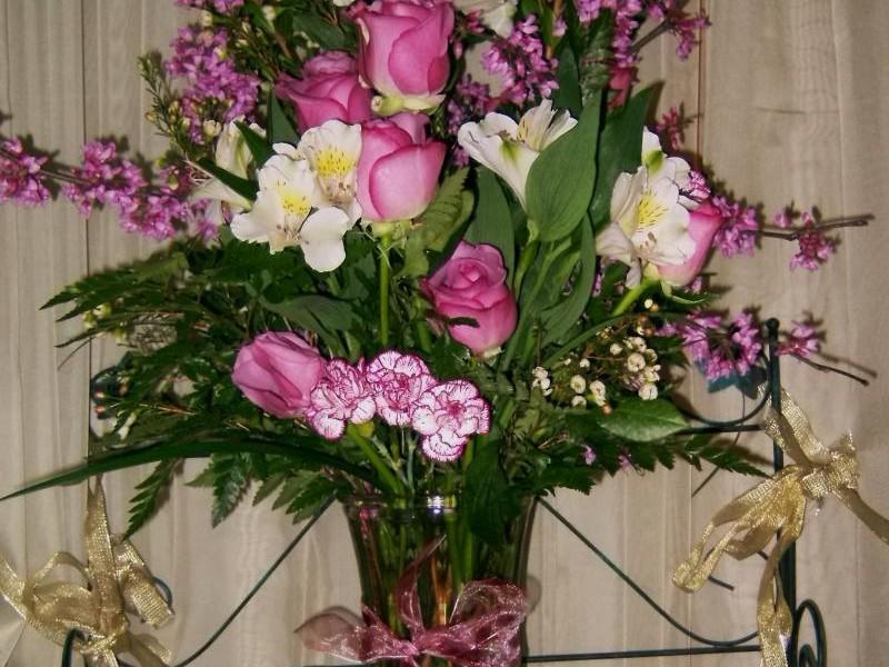 Large Floral Arrangements For Church
