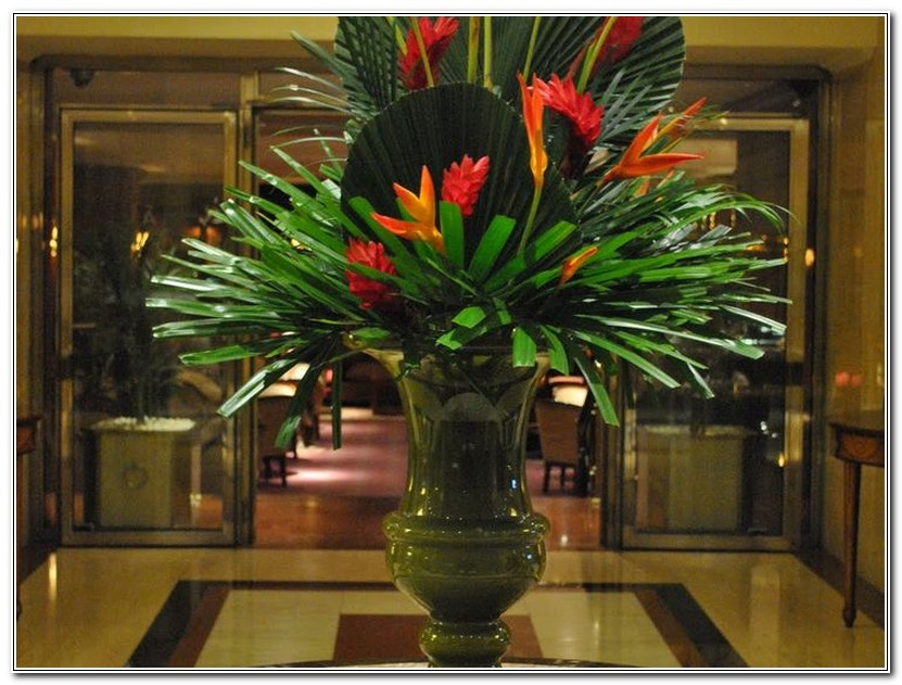 Large Floral Arrangements For Hotels