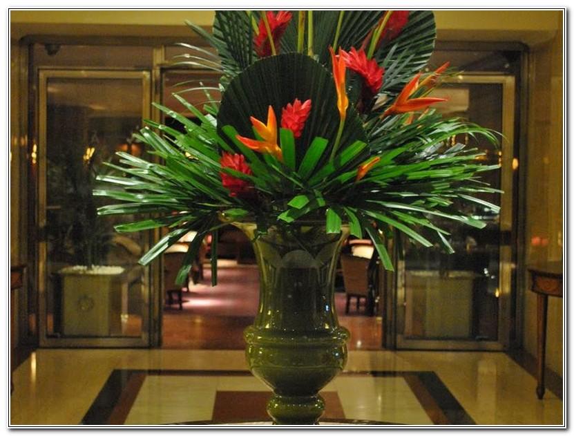 Large Floral Arrangements For Hotels