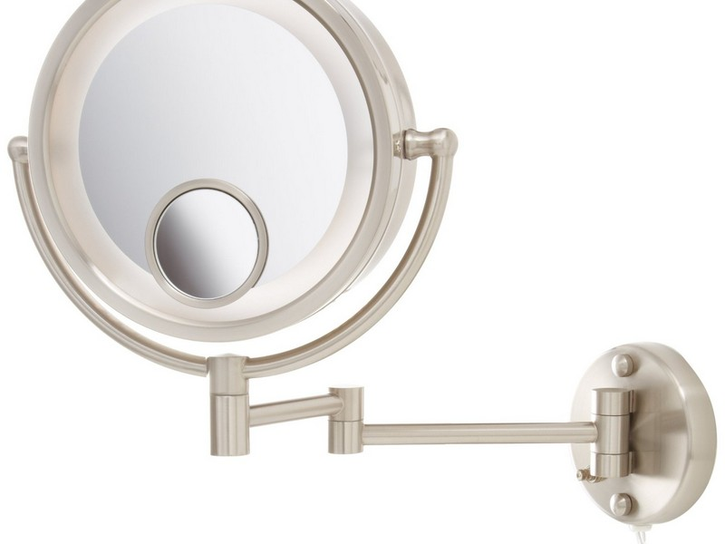 Large Illuminated Bathroom Mirror