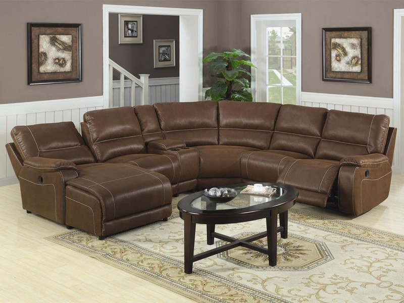 Large Leather Sectional Couches