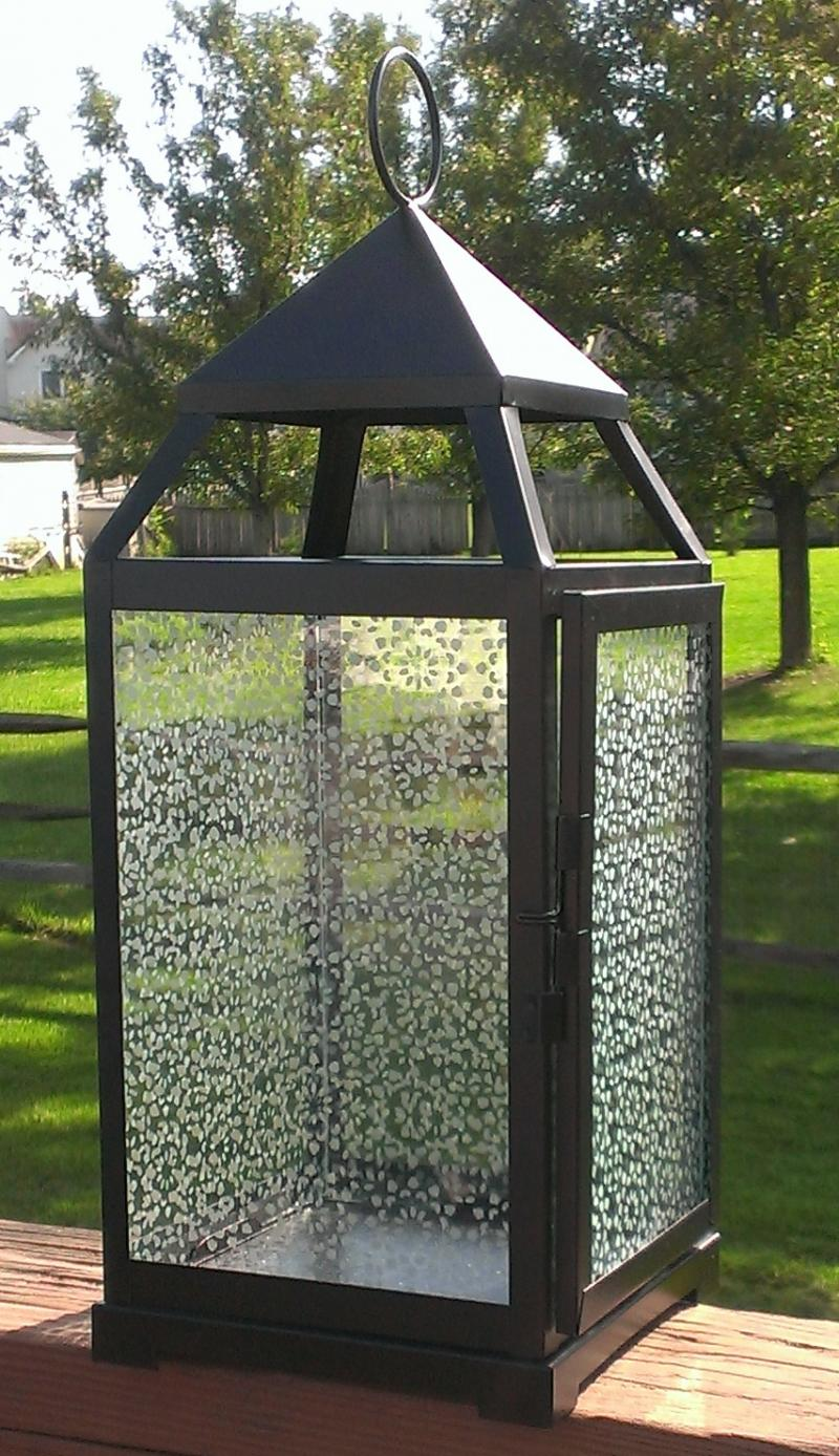 Large Outdoor Candle Lanterns