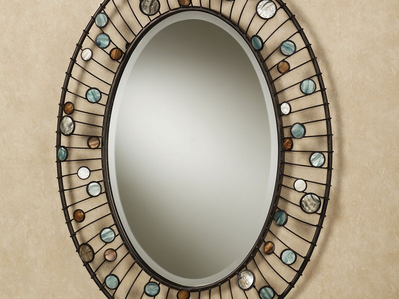 Large Oval Mirrors For Bathroom