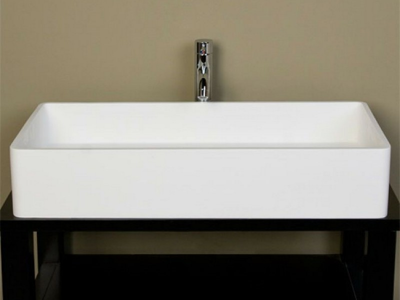 Large Rectangular Bathroom Sinks